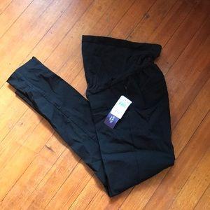 Black maternity skinny  trouser